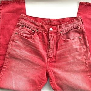 American Eagle high waisted Red pants
